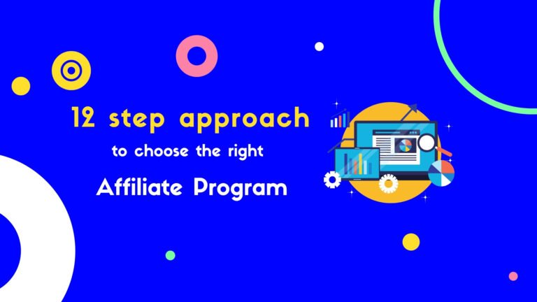 choose the right affiliate program