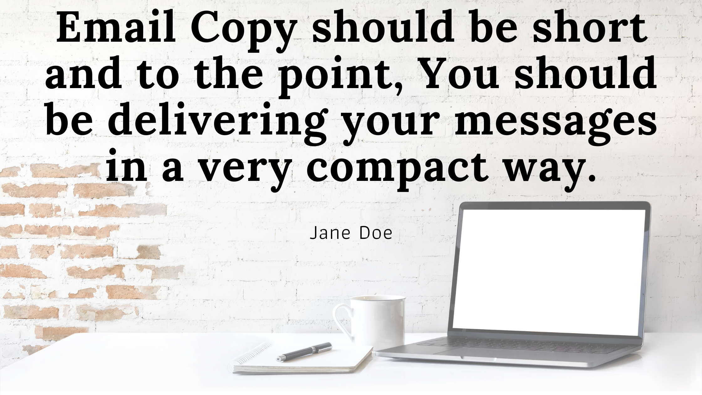 how to write Write Engaging and Compiling e-mail Copy?